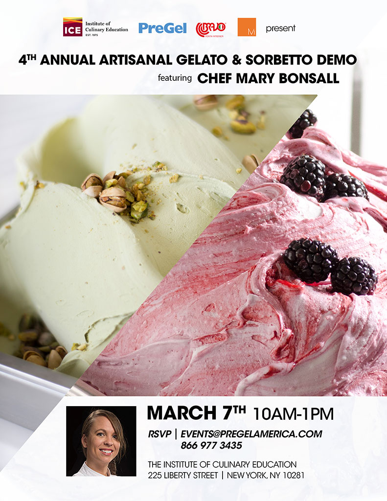 4th Annual Artisanal Gelato & Sorbetto Demo