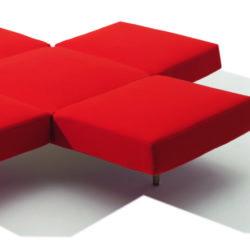 sofa,red