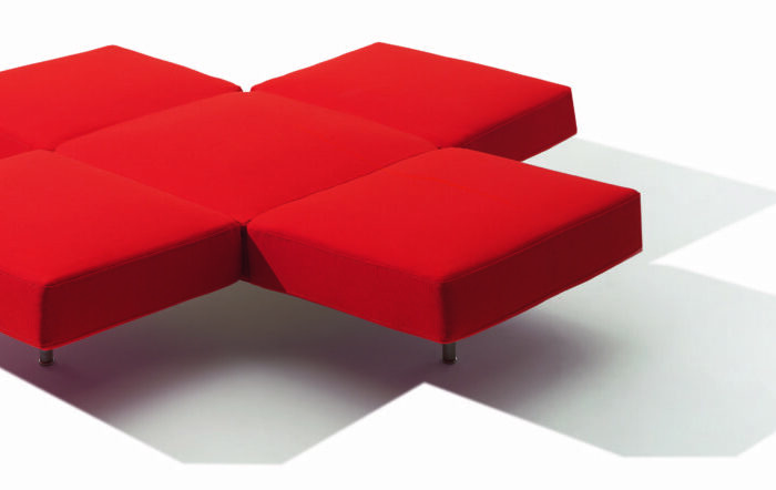 sofa,red
