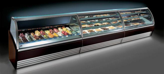 gelato,counters