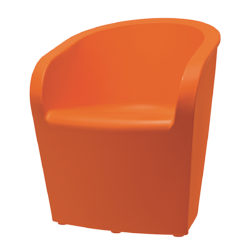 orange,chair