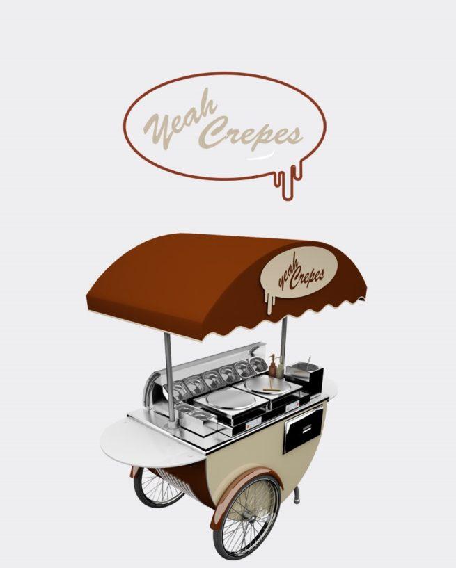 crepes,cart